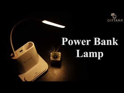 Power Bank Lamp With Mobile Holder And Pen Holder Multi-Function Desk Lamp