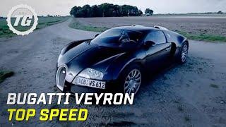James May's Bugatti Veyron top speed test
