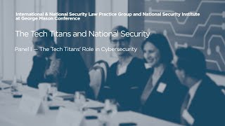 Click to play: Panel I — The Tech Titans' Role in Cybersecurity