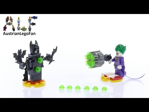 Vidéo LEGO The Batman Movie 30523 : The Joker Battle Training (Polybag)