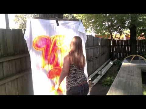 Viva La Stool Spray Paint