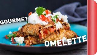 Gourmet Goat's Cheese Omelette Recipe