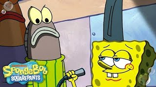 The Striped Sweater Song! 🎶 #TuesdayTunes | SpongeBob