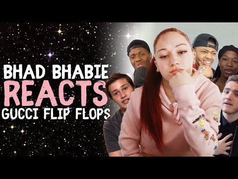BHAD BHABIE reacts to