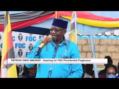 FDC campaigns for flag-bearer kicks off