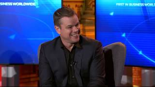 Davos 2019: Water.org's Matt Damon: 'We need the U.S. President to do well' (video)