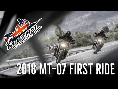 2018 MT-07 (FZ-07) first ride