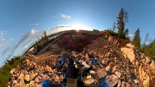 Construction site FPV | Gopro fusion 360 camera