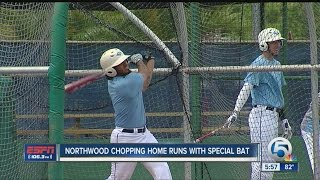 Northwood Baseball Hitting Home Runs with Special Bat