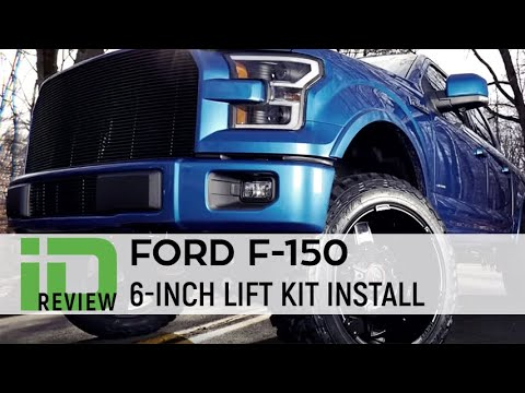 Ford F150 6 Inch Lift Kit Install