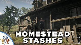 Red Dead Redemption 2 Breaking and Entering - All Homestead Stash Locations