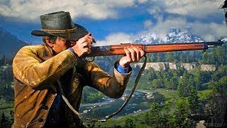Red Dead Redemption 2 - NEW Gameplay Weapon Clips