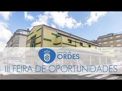 III FEIRA DE OPORTUNIDADES DE ORDES