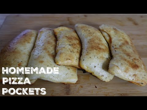 How To Make Homemade Pizza Pockets