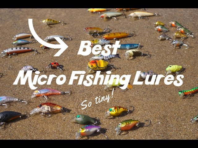 Best Micro Fishing Lure Collection