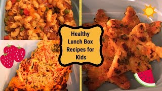 Indian Lunch Box Recipes- Part 1 I Healthy & Quick Kids Lunch Box Recipes I Quick Lunch Box