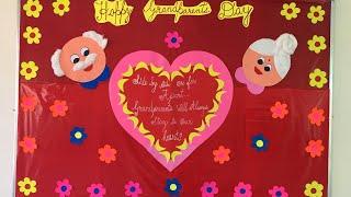 Grandparents Day Decoration Idea/School Bulletin Board Idea