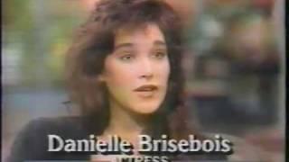Danielle Brisebois interview GMA 1987