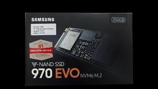 SSD Samsung 250GB NVMe M2 EVO 970