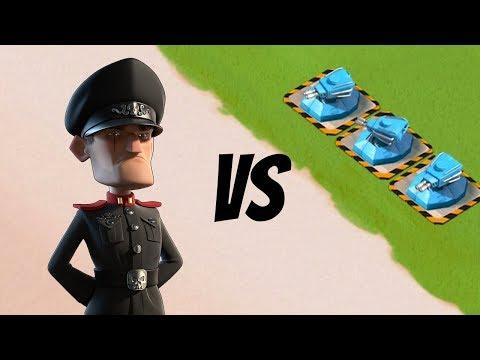 , title : 'Boom Beach 3 MAX SHOCK BLASTERS vs Defending Hammerman!!