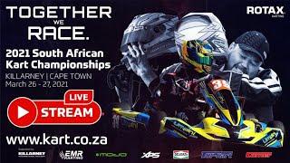 2021 SA Kart Championships – Killarney – LIVE