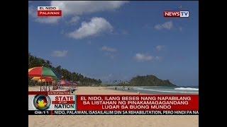 SONA: El Nido, isasailalim sa rehabilitasyon pero hindi isasara gaya nang ginawa sa Boracay