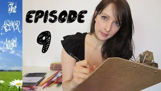 Art With Angel - ASMR Face / Portrait Sketching - Personal Attention EP9