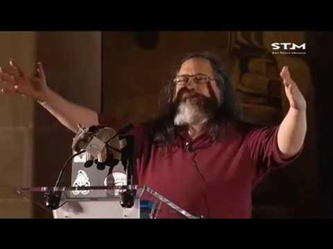 Richard Stallman / Privacidad y control: Software libre para tu privacidad