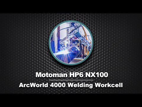 Motoman HP6 NX100 in ArcWorld 4000