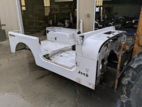 1987-1995 Jeep Wrangler YJ Tub / Body White Grade A