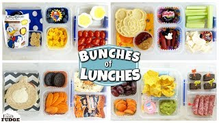 School LUNCH IDEAS for KIDS - JK, 1st Grade, 3rd Grade 🍎 Bunches of Lunches WEEK 2