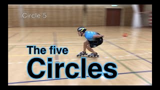 The 5 Circles - 5 steps to perfect inline skating crossovers