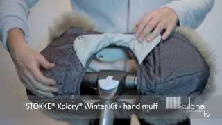 STOKKE® Xplory® Winter Kit - Fitting The Hand Muff