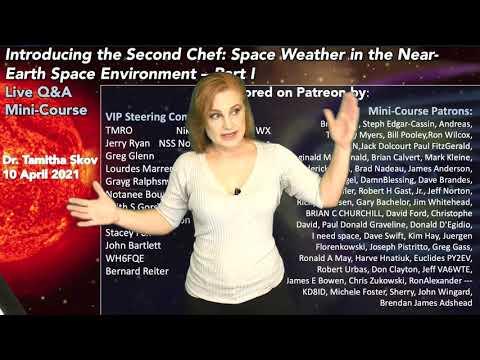 Solar Storm Forecast – April 10, 2021 at 06:43PM