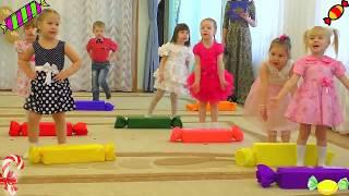Детская песенка про конфетки 🍭 Веселый Утренник в детском саду для детей