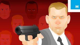 The Animated History of James Bond (1962-2015) | Mashable