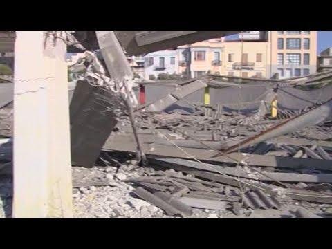 Ένας νεκρός από την κατάρρευση οροφής κτιρίου στο παλιό λιμάνι στην Πάτρα