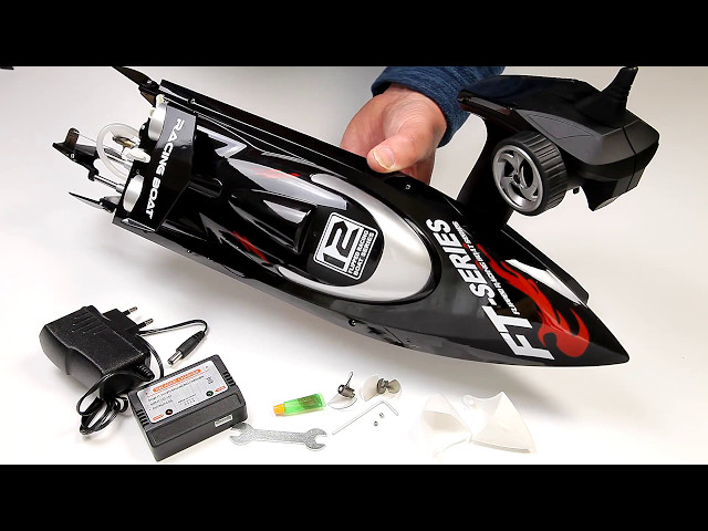 Fei Lun FT012 Brushless Motor Racing Boat Water cooled full review