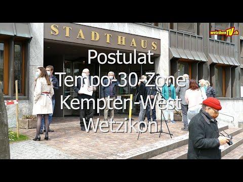 Tempo 30 Postulat, Wetzikon Kempten-West