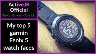 Garmin fenix 5 watch faces