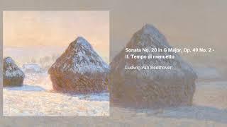 Piano Sonata No. 20 in G Major, Op. 49 No. 2