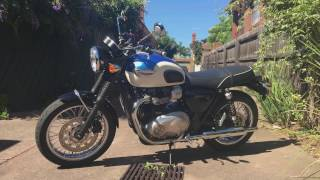 An Honest Review of the Water-Cooled Triumph Bonneville T100