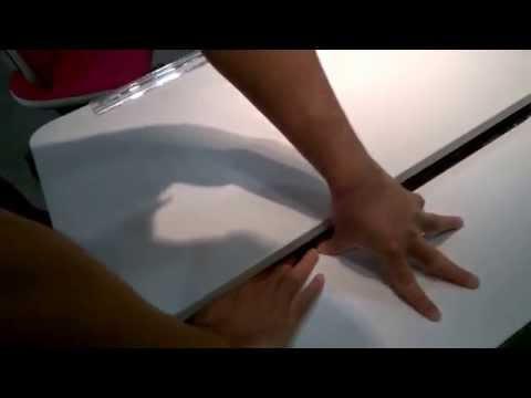 Moll Champion Desk - Tilting Mechanism