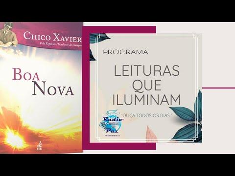 Livro Boa Nova -  Leituras que Iluminam