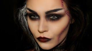 bride of frankenstein halloween makeup rebekah eller