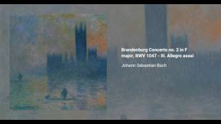 Brandenburg Concerto no. 2 in F major, BWV 1047