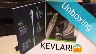 Belkin Duratek Dupont Kevlar Cable unboxing and first impression