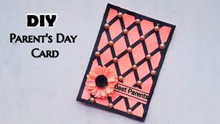 Parents day card making handmade/ Easy and beautiful card for parents day   Parents day cards