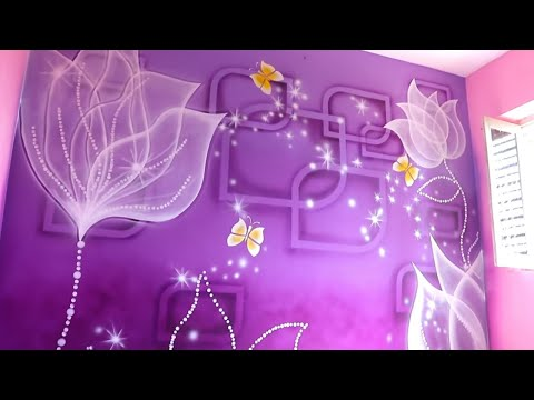 3d spray painting on wall by creative hacks