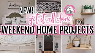 *NEW* GET IT ALL DONE WITH ME 2020 | FARMHOUSE HOME IMPROVEMENT PROJECTS